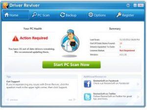 ReviverSoft Driver Reviver 5.35.0.38 Crack + Key 2021 Download [Portable]