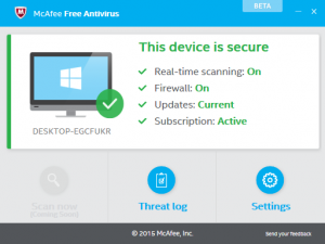 McAfee Antivirus 2021 Crack Product Key Free Download
