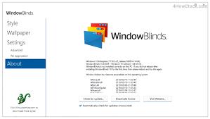 WindowBlinds 10.85 Crack + Free Download 2021